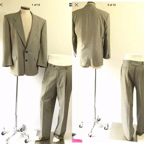 543d73adabb Yves Saint Laurent Suits & Blazers | Made In France Mens Suit Set ...
